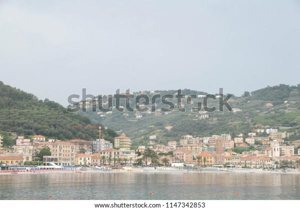 View of Noli, Liguria - Italy