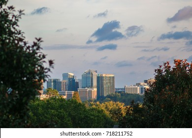 A view of northern Virginia from Washington, D.C.