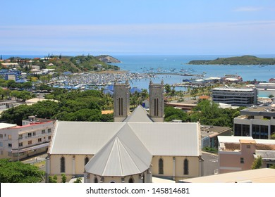 View of Noumea, New Caledonia
