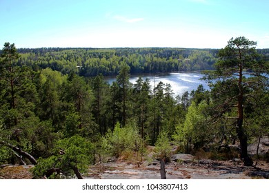 View from Nuuksio Finland