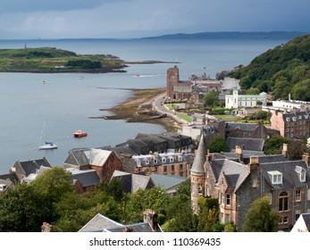 View of Oban, Scotland