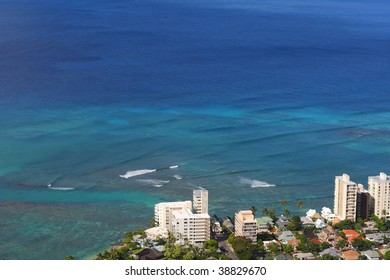 view of ocean from Diamond Head