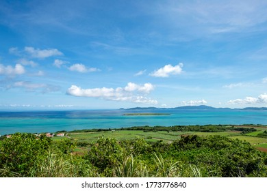 View from Odake Observatory, Obama Island, Okinawa Prefecture
