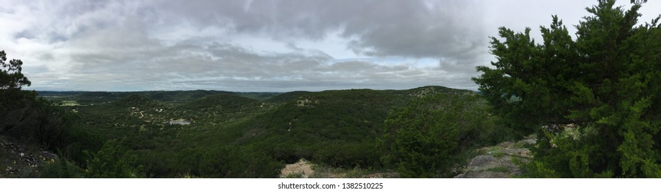 View from Old Baldy in Garner State Park, Texas.