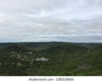View from Old Baldy, Garner State Park, Texas