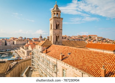 View of Old city of Dubrovnik