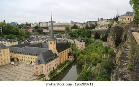View of the old city of Luxembourg
