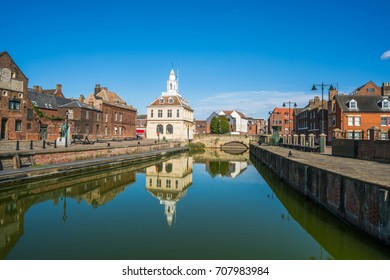 View of the old custom house at King's Lynn, Norfolk, UK