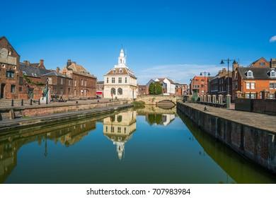 Aussicht auf das alte Zollhaus bei King's Lynn, Norfolk, Vereinigtes Königreich