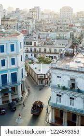 View of Old Havana and Central Havana, Cuba