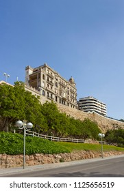 View of old and new buildings in Tarragona, Spain
