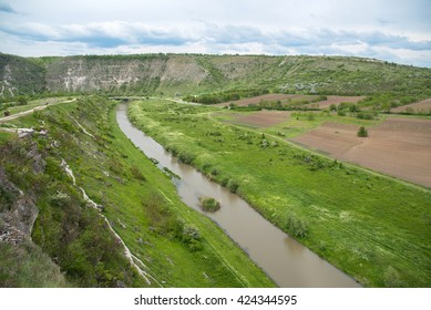View of old Orhei, famous historical place Moldova