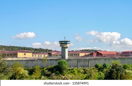 View of an old prison