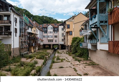 View of the old town of Bad Kreuznach, Germany
