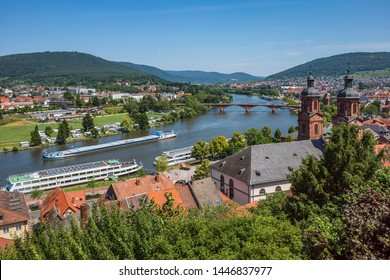 view of old town of miltenberg odenwald germany