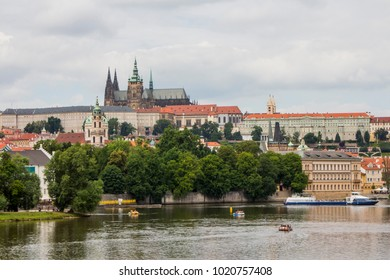 View of the Old Town of Prague. Czech Republic