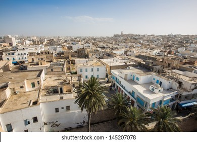 view of old town of Sousse, Tunisia