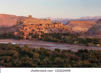 View of old village called Ait Ben Haddou, the place where lots of succesful movies was made. Morocco