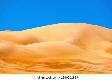 View of Omani desert - Sultanate of Oman