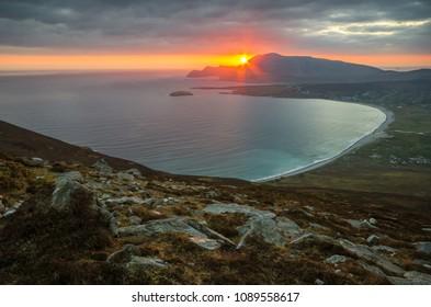 View on Achill Island in Ireland