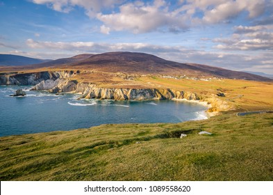 View on Achill Island in Ireland