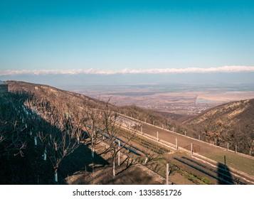 View on Alazany Valley. Kakheti.Georgia