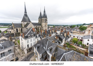 View on Amboise Town