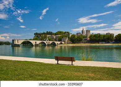 View on Avignon Bridge