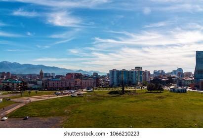 View on Batumi city from the port. Georgia
