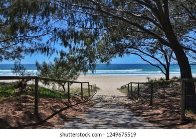 View on the beach in Australia - GoldCoast