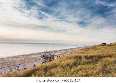View on the beach of Rantum Sylt