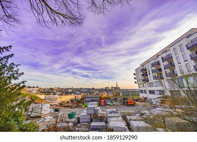 View on Belair in Luxembourg City