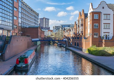View on the Birmingham Canals