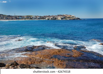 View on Bondi Beach in Sydney