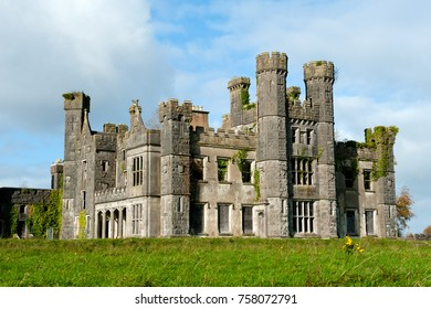 View on a Castle Saunderson, Belturbet, Co. Cavan, Ireland