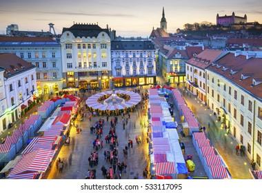 Christmas Bratislava.Bratislava Christmas Stock Photos Images Photography