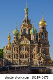 View on Church of the Savior on Blood in Saint-Petersburg, Russia
