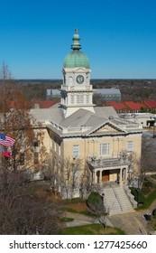 View on city hall Athens, GA