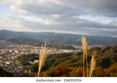 View on the city of Kyoto from Mount Daimonji - a pleasant hiking destination in the North of Kyoto