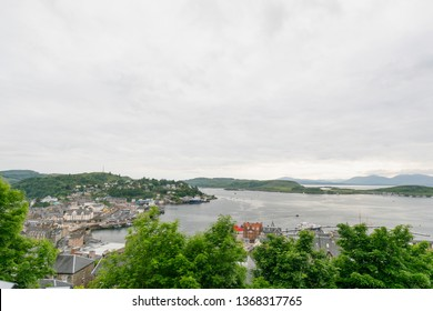 View on City Oban in Scotland