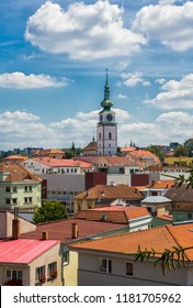 View on city Trebic.