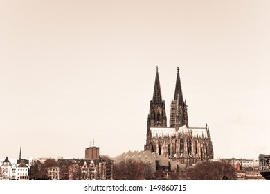 View on Cologne Cathedral, Germany