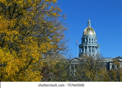View on Denver Colorado Capitol,United States of America.