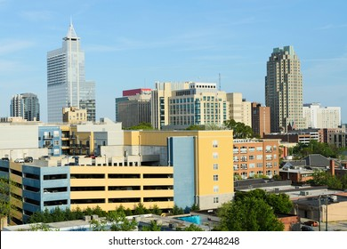 View on downtown Raleigh, NC