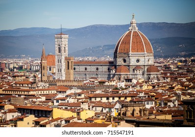 View on Duomo in Florence, Tuscany, Italy.