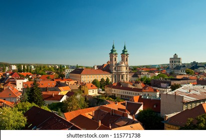 View on Eger, Hungary