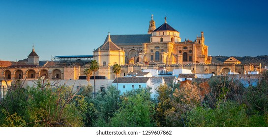 View on the famous Mezquita of Cordoba, Spain