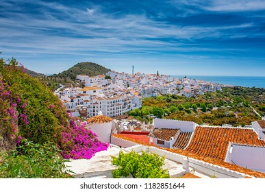 View on Frigiliana, Spain