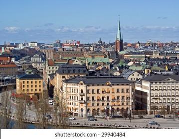 View on Gamla Stan, Stockholm, Sweden
