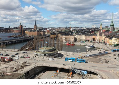 View on Gamla Stan in Stockholm, Sweden